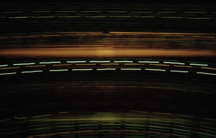 DŸsseldorf - Düsseldorf - Camera Obscura, Langzeitbelichtung, Fotografie, Drehturmrestaurant, Fernsehturm, Lochkamera, Karen Stuke, City Lights, Lichter der Gro§stadt, Pinhole Camera, Zeit, Photo, Foto,