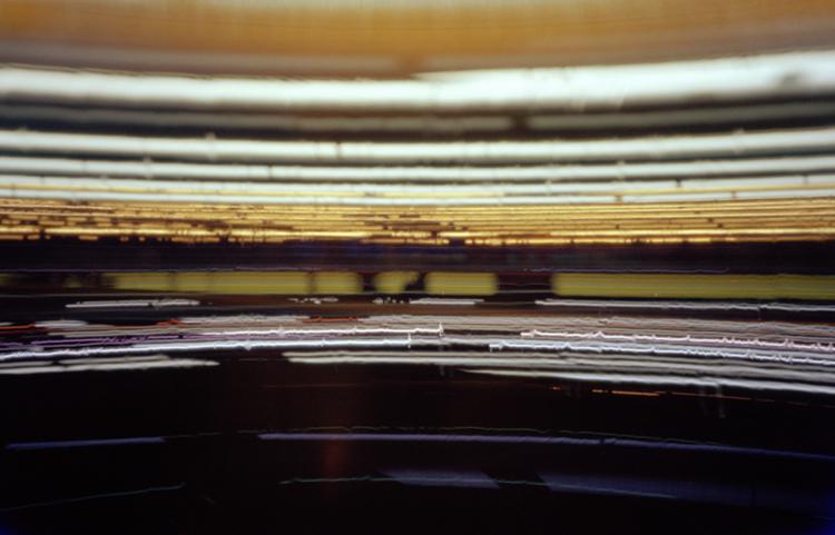 Istanbul - Camera Obscura, Langzeitbelichtung, Drehrestaurant, Fernsehturm, Lochkamera, Karen Stuke, City Lights, Lichter der Grossstadt, Pinhole Camera, Time, Zeit