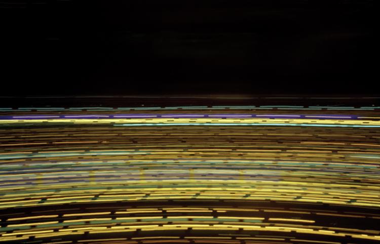 Palavas Les Flots - Camera Obscura, Langzeitbelichtung, Drehrestaurant, Lochkamera, Karen Stuke, City Lights, Lichter der Großstadt, Pinhole Camera, Zeit, time