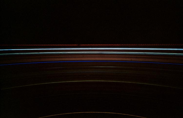 Wien - Camera Obscura, Langzeitbelichtung, Drehturmrestaurant, Fernsehturm, Lochkamera, Karen Stuke, City Lights, Lichter der Gro§stadt, Pinhole Camera, Zeit,