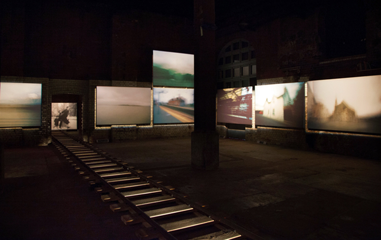 installation view Austerlitz