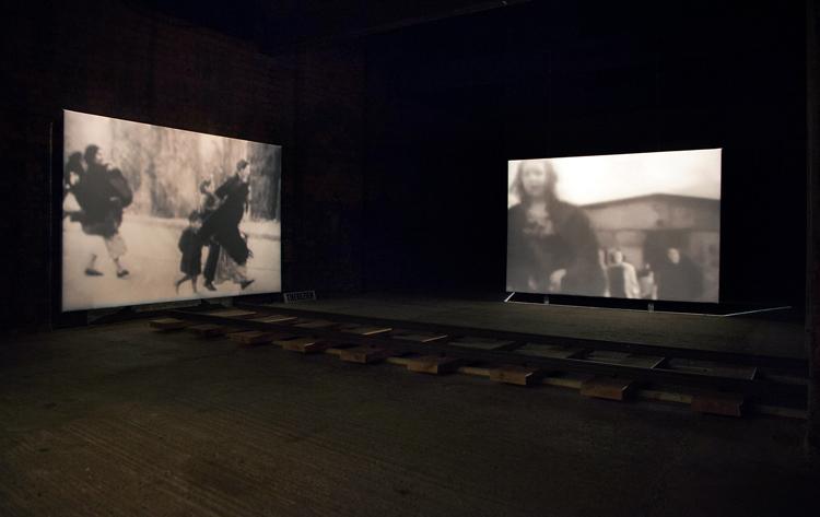 installation view Austerlitz © Karen Stuke